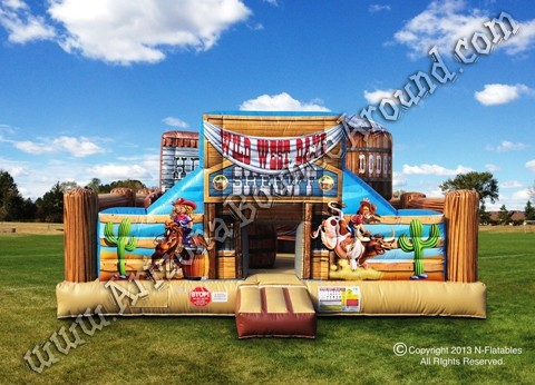 ... Bounce House Rentals - Western Birthday Party Inflatable - Phoenix, AZ