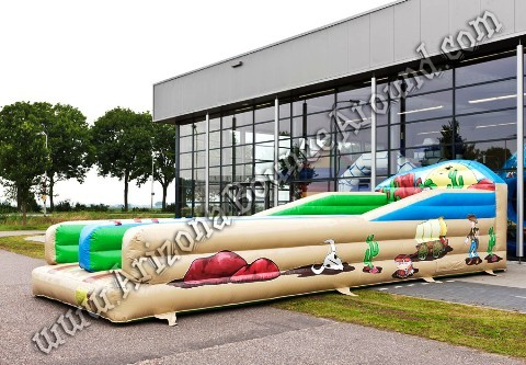 Western Themed Bungee Run Rentals