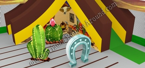 Western Themed Inflatables for rent in Phoenix Arizona