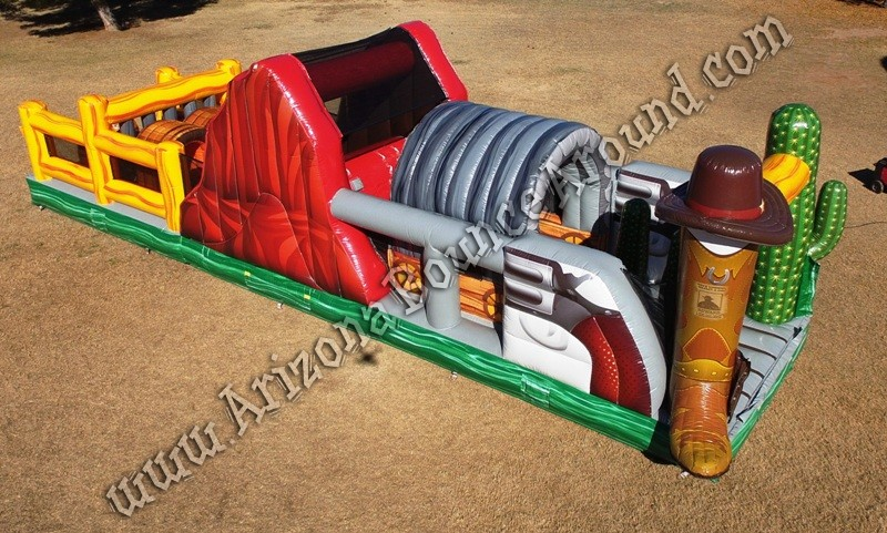 Western themed Inflatable rental Phoenix Arizona