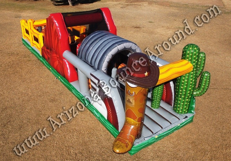 Western themed Inflatable rental Scottsdale Arizona
