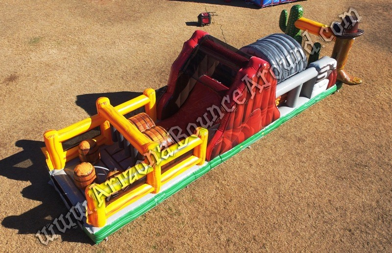 Western themed Inflatable rental companies in Phoenix Arizona