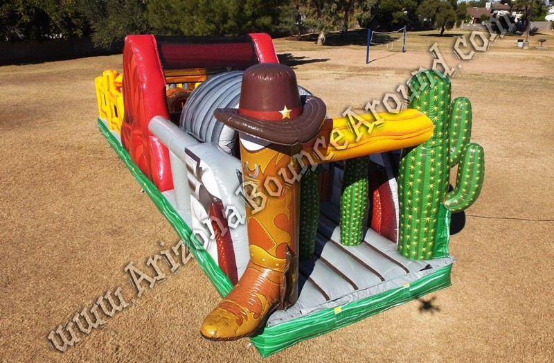 Western themed Inflatable rental companies in Tucson Arizona