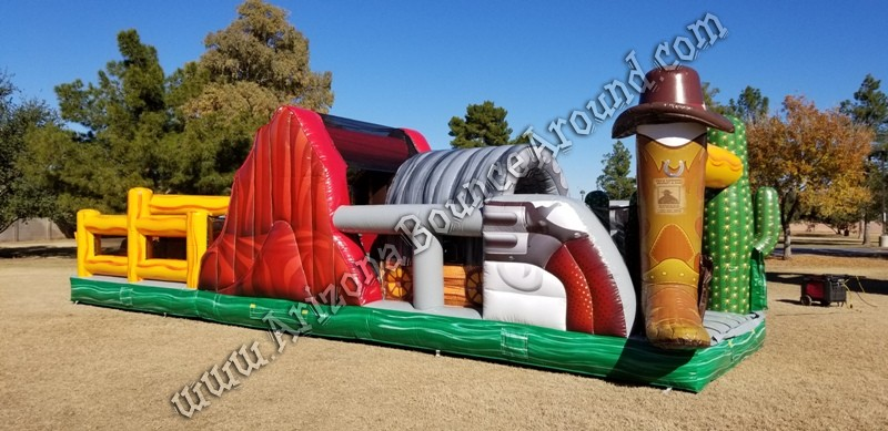 Western themed Inflatable rentals Mesa Arizona