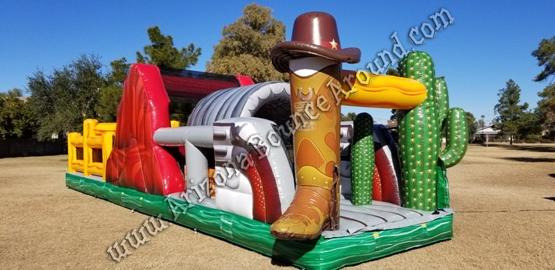 Western themed Inflatable rentals Scottsdale Arizona