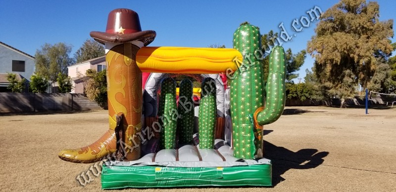Western themed Inflatable rentals Tempe Arizona
