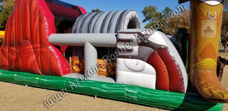 Western themed Inflatable rentals Tucson Arizona