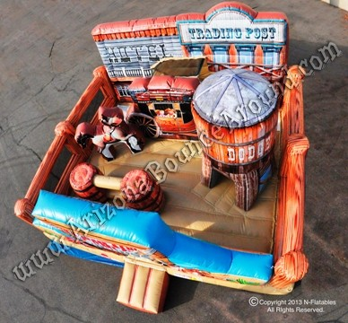 Western themed bounce house rentals AZ