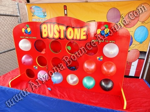 Where can i rent Balloon pop carnival games in AZ