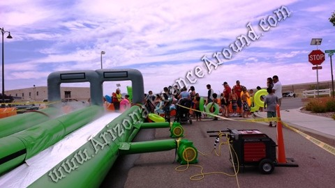 Where can i rent a giant slip n slide for events