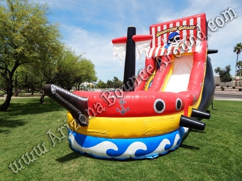 Whre can i rent a Pirate themed water slide in Phoenix Arizona