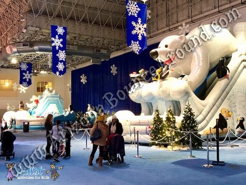 Winter Wonderland Polar Bear Inflatables for rent in Arizona