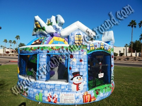 WinterThemed Bounce House Rental Phoenix AZ