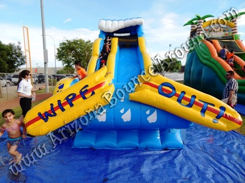 Wipe Out Water Slide rental Chandler AZ