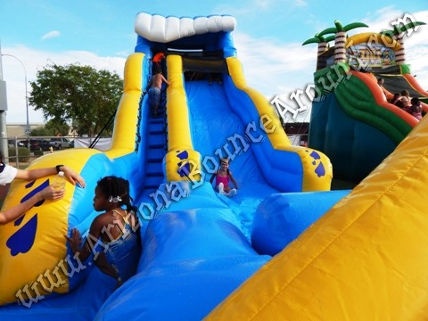 Wipe Out Water Slide rental Gilbert AZ