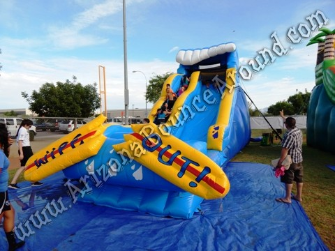 Wipe Out Water Slide rental Scottsdale