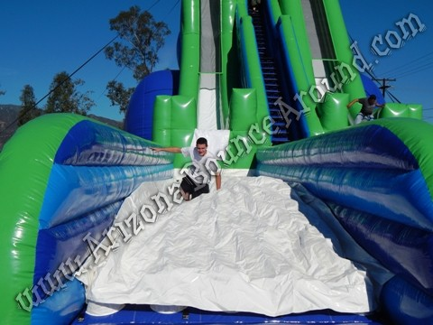 Worlds tallest inflatable water slide rentals