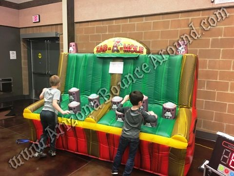 Zap a mole inflatable game rental Phoenix Arizona