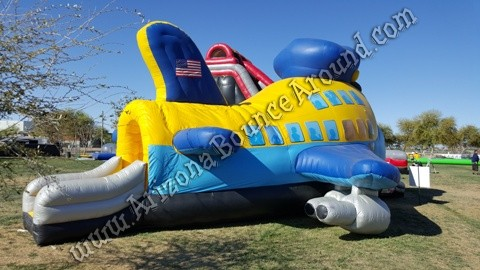 airplane bounce house rental Scottsdale