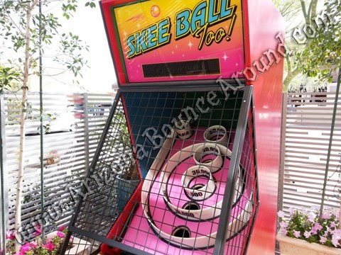 arcade skee ball machine rental phoenix, Arizona