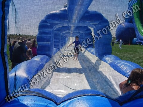 big dual lane water slide rentals AZ