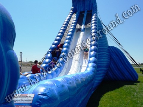 big dual lane water slide rentals Arizona