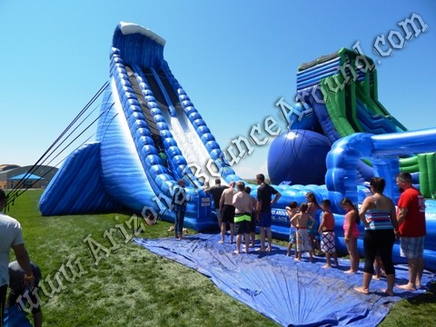 big dual lane water slide rentals in Arizona