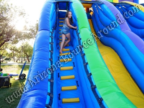 big water slide rentals Phoenix Arizona