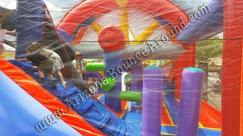 carnival themed bounce house rentals Scottsdale
