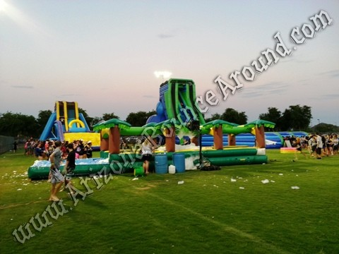 drop kick water slide rental Arizona