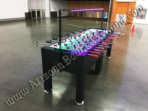 giant foosball table rental Phoenix AZ