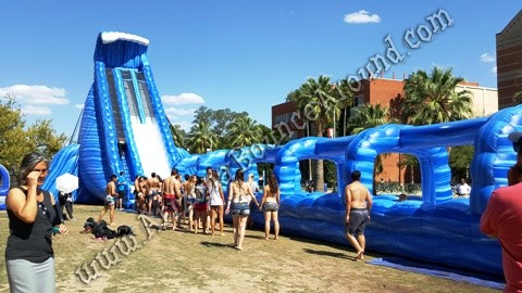 giant water slides for parties in Arizona