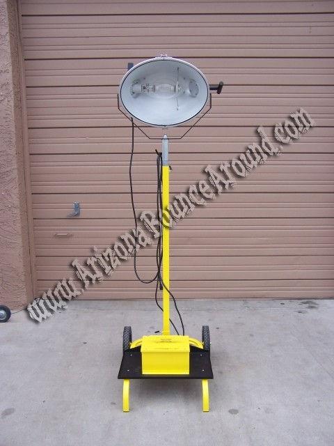Construction lighting rental - Outdoor light rental - Phoenix