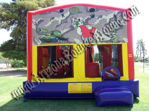 army bouncer rental in Phoenix, Arizona