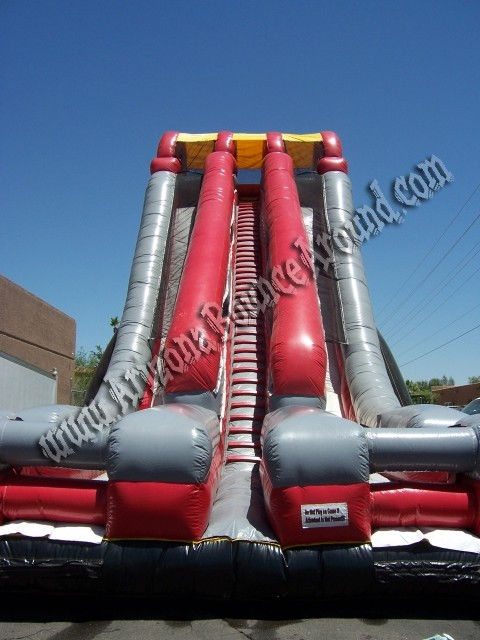 huge inflatable slide renat in phoenix, Arizona