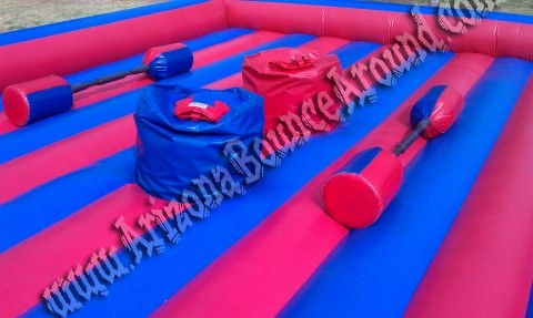 Rent Joust inflatables in Phoenix Arizona - Gladiator Joust inflatable Rental AZ