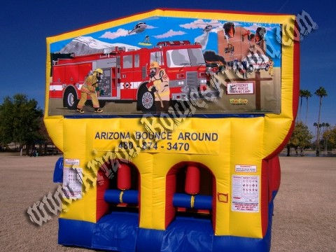 Fireman Obstacle Course rental in Phoenix AZ, Fire truck obstacle course