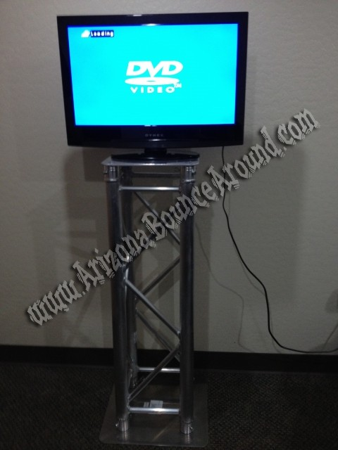 flat screen tv rental with dvd player phoenix scottsdale arizona. Black Bedroom Furniture Sets. Home Design Ideas