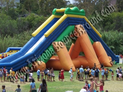 Huge Inflatable Water Slide Rental Scottsdale Arziona