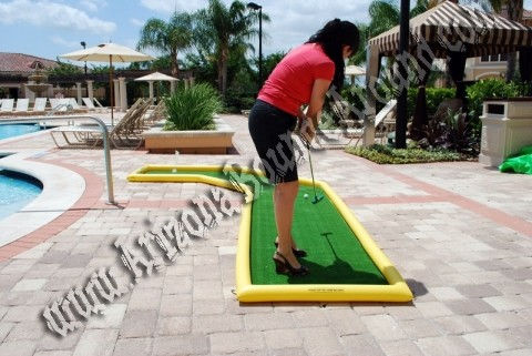 3 Hole Putting Course
