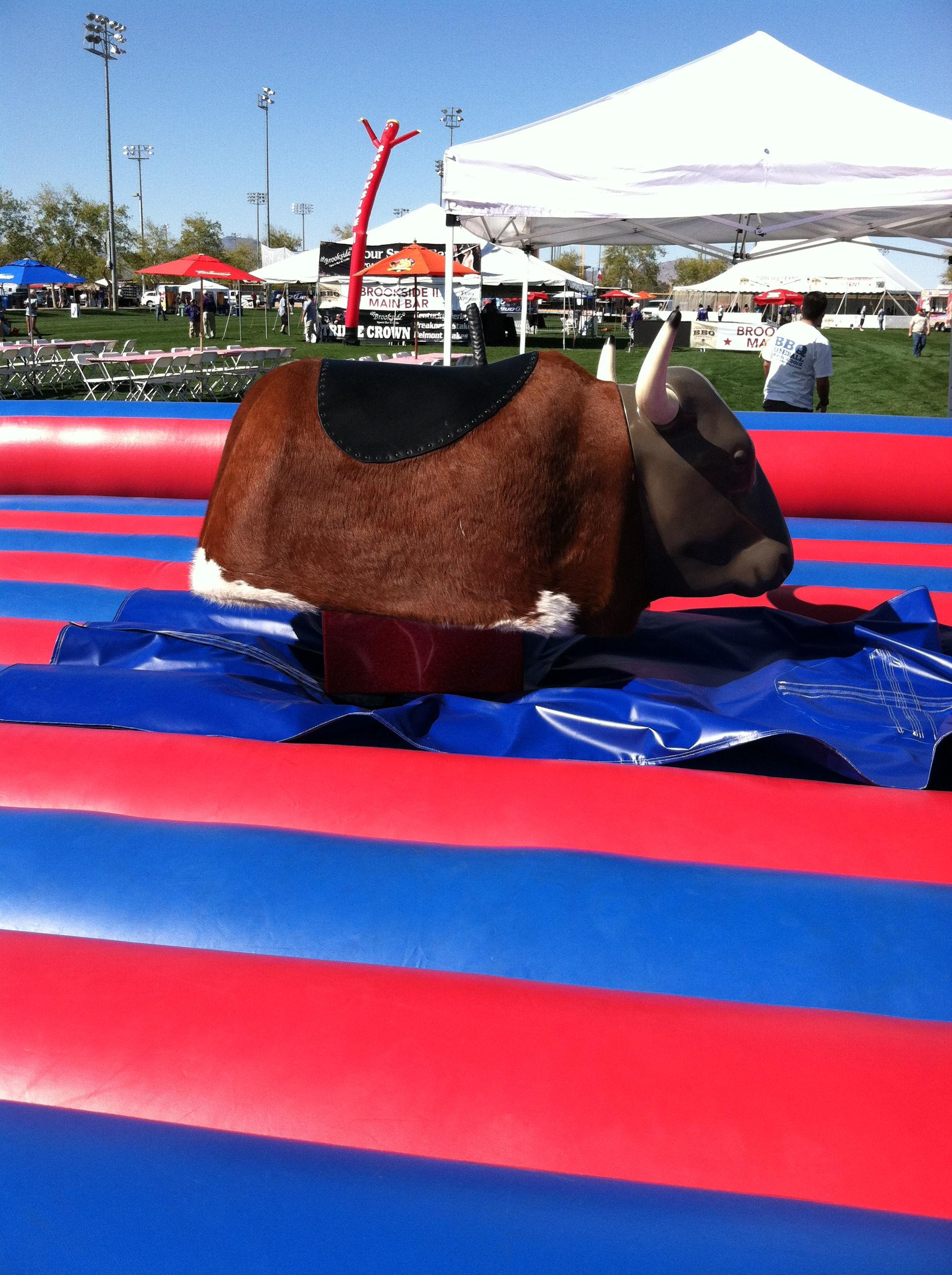 mechanical bull rental carnival rides event rentals