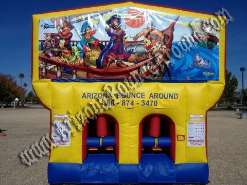 Pirate Obstacle Course rental in Phoenix AZ