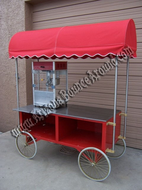 Old Fashion Popcorn Cart Rentals Phoenix Scottsdale