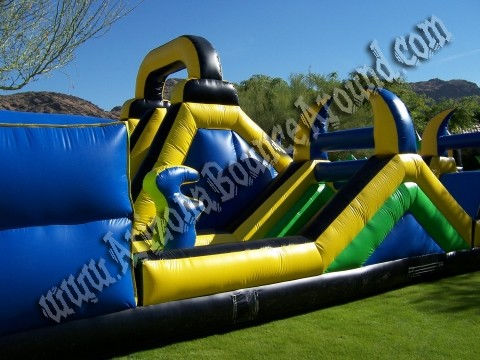 huge inflatable obstacle course rental Phoenix, Arizona