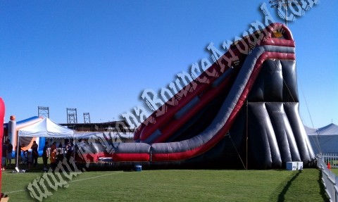 Large Inflatable Dry Slide Rental in Phoenix, Arizona