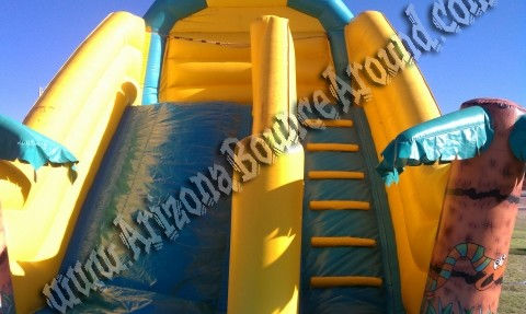 large inflatable water slide rental in mesa, arizona