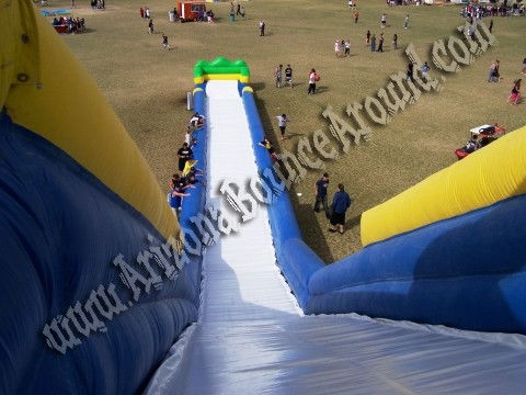 tall inflatable water slide rental phoenix scottsdale arizona az