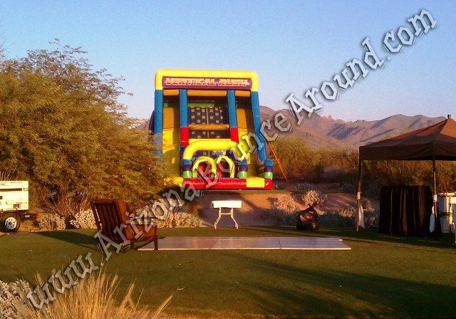 inflatable obstacle course rentals for company parties Phoenix Arizona