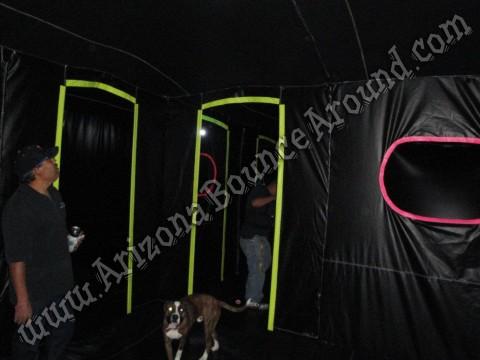 Inflatable Laser Tag Maze Rental Portable Laser Tag