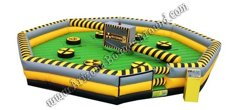 meltdown inflatable game rentals in Arizona